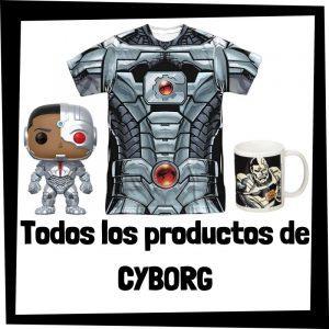 Productos de Cyborg de DC - Todo el merchandising de Cyborg - Comprar Cyborg de DC