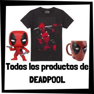 Productos de Deadpool de Marvel - Todo el merchandising de Deadpool - Comprar Deadpool