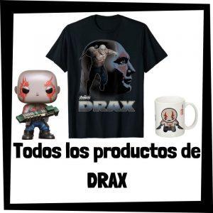 Productos de Drax de Guardianes de la Galaxia - Todo el merchandising de Drax - Comprar Drax de Guardianes