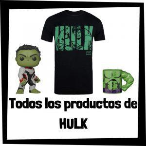 Productos de Hulk de Marvel - Todo el merchandising de Hulk - Comprar Hulk