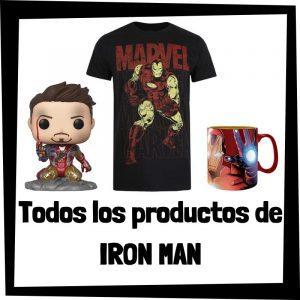 Productos de Iron man de Marvel - Todo el merchandising de Iron man - Comprar Tony Stark