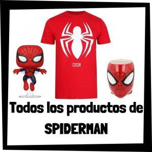 Productos de Spiderman de Marvel - Todo el merchandising de Spiderman - Comprar Spider-man