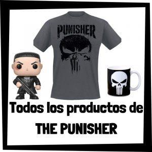 Productos de The Punisher de Marvel - Todo el merchandising de The Punisher - Comprar The Punisher