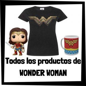 Productos de Wonder Woman de DC - Todo el merchandising de Wonder Woman - Comprar Wonder Woman de DC