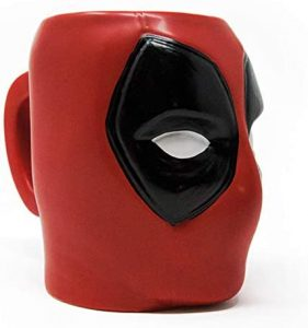 Taza 3D de Deadpool - Las mejores tazas de Deadpool - Tazas de Marvel