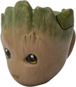 Taza 3D de Groot - Las mejores tazas de Groot - Tazas de Marvel