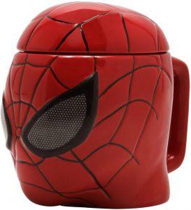 Taza 3D de Spiderman - Las mejores tazas de Spiderman - Tazas de Marvel