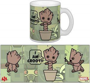 Taza Kawaii de Baby Groot - Las mejores tazas de Groot - Tazas de Marvel