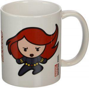 Taza Kawaii de Black Widow - Las mejores tazas de Black Widow - Tazas de Marvel