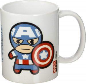 Taza Kawaii de Capitán América - Las mejores tazas de Capitán América - Tazas de Marvel