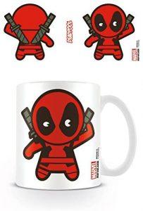 Taza Kawaii de Deadpool - Las mejores tazas de Deadpool - Tazas de Marvel