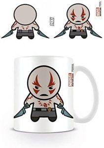 Taza Kawaii de Drax con pegatina sorpresa - Las mejores tazas de Drax - Tazas de Marvel