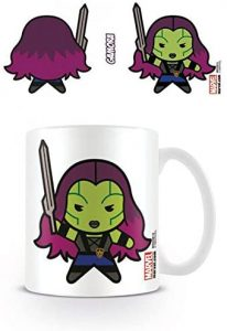 Taza Kawaii de Gamora con pegatina sorpresa - Las mejores tazas de Gamora - Tazas de Marvel