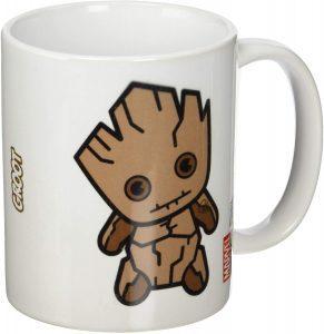 Taza Kawaii de Groot - Las mejores tazas de Groot - Tazas de Marvel