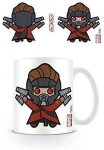 Taza Kawaii de Star Lord con pegatina sorpresa - Las mejores tazas de Star Lord - Tazas de Marvel