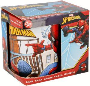 Taza con diseño original de Spiderman - Las mejores tazas de Spiderman - Tazas de Marvel