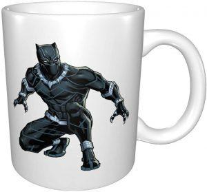 Taza con diseño realista de Black Panther - Las mejores tazas de Black Panther - Tazas de Marvel