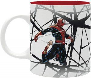 Taza con diseño realista de Spiderman - Las mejores tazas de Spiderman - Tazas de Marvel