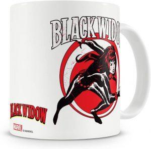 Taza con licencia oficial de Black Widow - Las mejores tazas de Black Widow - Tazas de Marvel