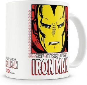 Taza con licencia oficial de Iron man - Las mejores tazas de Iron man - Tazas de Marvel