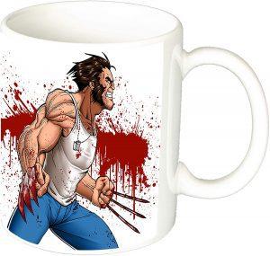 Taza con licencia oficial de Lobezno - Las mejores tazas de Lobezno - Tazas de Marvel