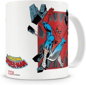 Taza con licencia oficial de Spiderman - Las mejores tazas de Spiderman - Tazas de Marvel