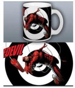 Taza con traje original de Daredevil - Las mejores tazas de Daredevil - Tazas de Marvel