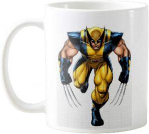 Taza con traje original de Lobezno - Las mejores tazas de Lobezno - Tazas de Marvel