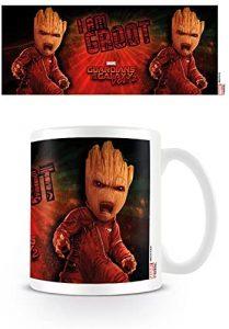Taza de Angry Groot - Las mejores tazas de Groot - Tazas de Marvel