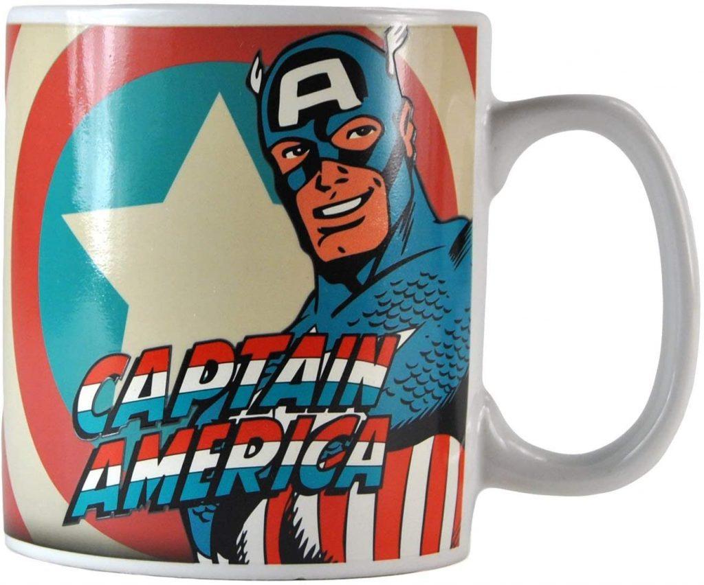 Taza de Capitán América clásico - Las mejores tazas de Capitán América - Tazas de Marvel