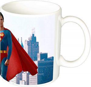 Taza de Christopher Reeve de Superman - Las mejores tazas de Superman - Tazas de DC