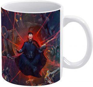 Taza de Doctor Strange con Spiderman - Las mejores tazas de Doctor Strange - Tazas de Marvel