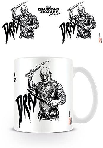 Taza de Drax - Guardianes de la Galaxia - Las mejores tazas de Drax - Tazas de Marvel
