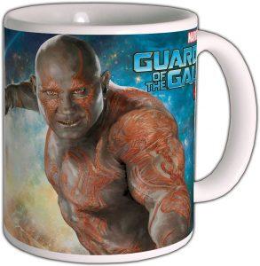 Taza de Drax - Guardianes de la Galaxias volumen 2 - Las mejores tazas de Drax - Tazas de Marvel