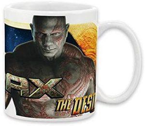 Taza de Drax el Destructor - Las mejores tazas de Drax - Tazas de Marvel