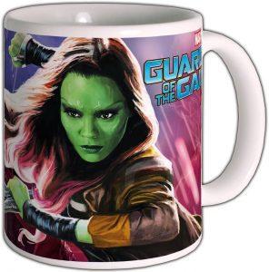 Taza de Gamora - Guardianes de la Galaxias volumen 2 - Las mejores tazas de Gamora - Tazas de Marvel