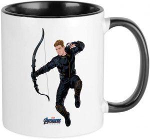 Taza de Hawkeye en End Game - Las mejores tazas de Hawkeye - Ojo de Halcón - Tazas de Marvel