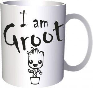 Taza de I am Groot - Las mejores tazas de Groot - Tazas de Marvel