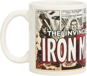 Taza de Invincible Iron man comic - Las mejores tazas de Iron-man - Tazas de Marvel