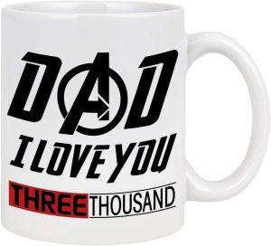 Taza de Iron man te quiero 3000 - Las mejores tazas de Iron man - Tazas de Marvel