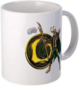 Taza de Loki Avengers - Las mejores tazas de Loki - Tazas de Marvel