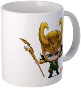 Taza de Loki Kawaii - Las mejores tazas de Loki - Tazas de Marvel