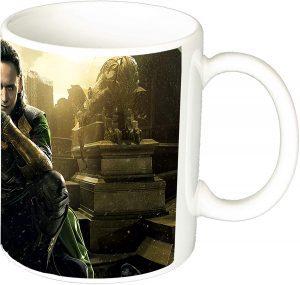 Taza de Loki de cerámica - Las mejores tazas de Loki - Tazas de Marvel