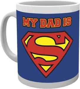 Taza de My Dad is Superman - Las mejores tazas de Superman - Tazas de DC