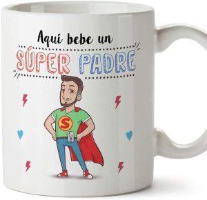 Taza de Super Padre - Las mejores tazas de Superman - Tazas de DC