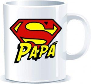 Taza de Super Papá - Las mejores tazas de Superman - Tazas de DC
