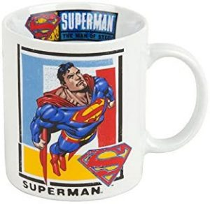 Taza de Superman Up Up - Las mejores tazas de Superman - Tazas de DC