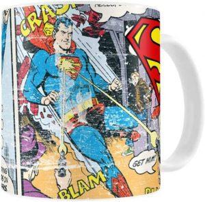 Taza de Superman cómic - Las mejores tazas de Superman - Tazas de DC