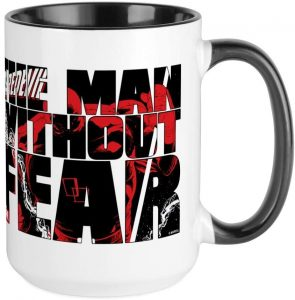 Taza de The Man Without Fear de Daredevil - Las mejores tazas de Daredevil - Tazas de Marvel