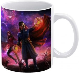 Taza de Wanda y Doctor Strange - Las mejores tazas de Doctor Strange - Tazas de Marvel